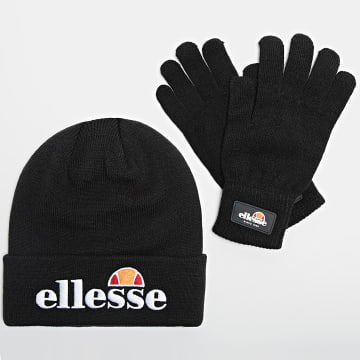 Ellesse - Lot Bonnet Et Paire De Gants Velly And Bubb SAAZ0783 Noir