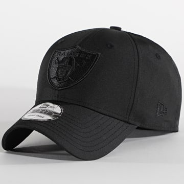 New Era - Casquette 9Forty Tonal Nylon 12489970 Oakland Raiders Noir