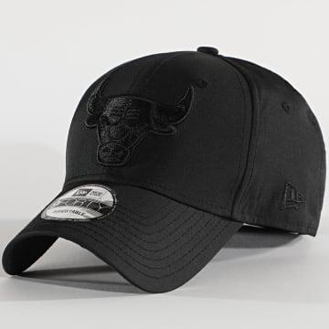 New Era - Casquette 9Forty Tonal Nylon 12489975 Chicago Bulls Noir