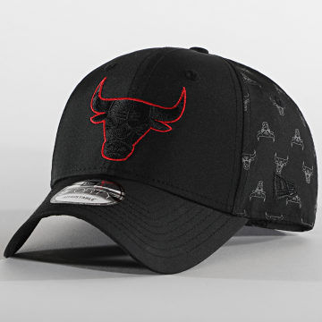 New Era - Casquette 9Forty Nylon 12490118 Chicago Bulls Noir