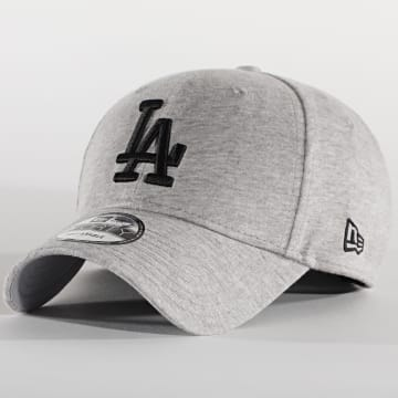New Era - Casquette Jersey Essential 12490234 Los Angeles Dodgers Gris Chiné