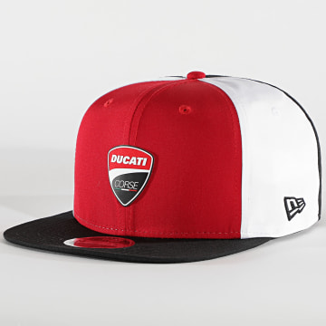 New Era - Casquette Snapback Multibadge 12500177 Ducati Rouge