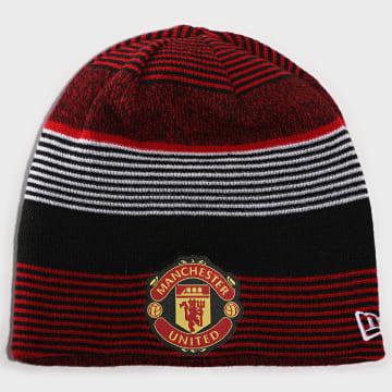 New Era - Bonnet Réversible Skull Knit 12503541 Manchester United Rouge