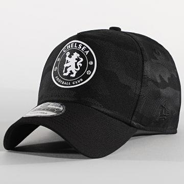 New Era - Casquette 9Forty Camo 12503931 Chelsea FC Noir Camouflage