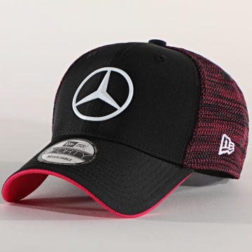 New Era - Casquette Trucker 9Forty E-Sports Team 12502278 Mercedes AMG Noir Rose