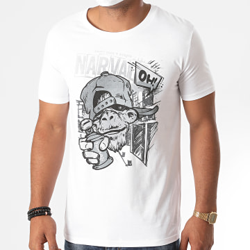 Swift Guad - Tee Shirt Narval Oh Blanc