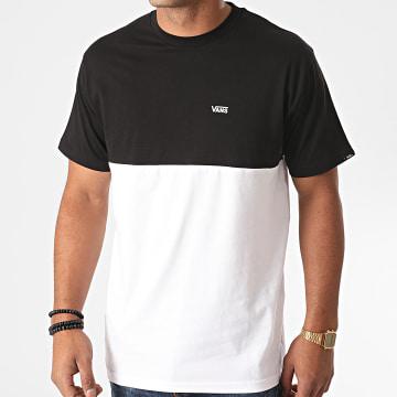 Vans - Tee Shirt Colorblock A3CZDYB2 Noir Blanc