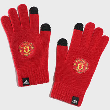adidas - Gants Manchester United FS0139 Rouge
