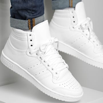 Adidas Originals - Baskets Top Ten Hi FV6131 Footwear White Core White