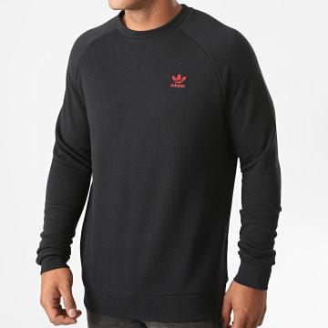 Adidas Originals - Sweat Crewneck Essential GD2540 Noir Rouge