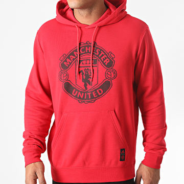 Adidas Performance - Sweat Capuche Manchester United DNA FR3845 Rouge