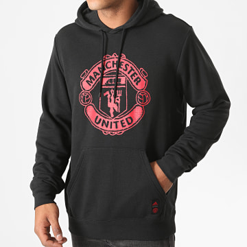 Adidas Performance - Sweat Capuche Manchester United DNA FS2951 Noir