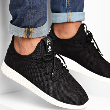 Adidas Originals - Baskets Pharrell Williams Tennis Hu AQ1056 Core Black Cloud White