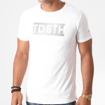Teddy Smith - Tee Shirt Glue Blanc