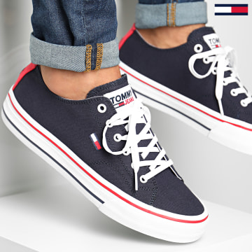 Tommy Jeans - Baskets Long Lace Up 0565 Twilight NAvy