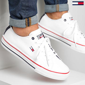 Tommy Jeans - Baskets Long Lace Up 0565 White