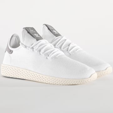 Adidas Originals - Baskets Pharrell Williams Tennis Hu B41793 Footwear White Cloud White