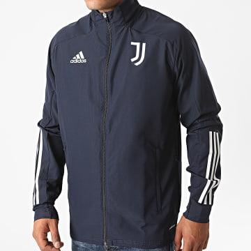 Adidas Performance - Veste Zippée Juventus Presentation FR4286 Bleu Marine