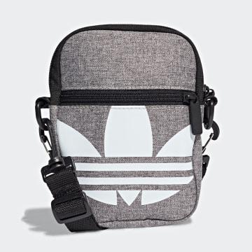 Adidas Originals - Sacoche Festival Bag Trefoil GK0680 Gris Chiné