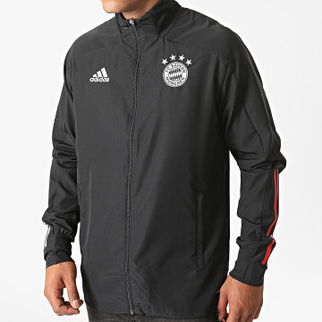 Adidas Performance - Veste Zippée FC Bayern Presentation FR5355 Noir