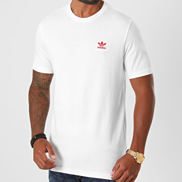 Adidas Originals - Tee Shirt Essential GD2534 Blanc Rouge