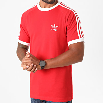 Adidas Originals - Tee Shirt A Bandes GD9934 Rouge