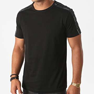 Antony Morato - Tee Shirt A Bandes Basic MMKS01850 Noir