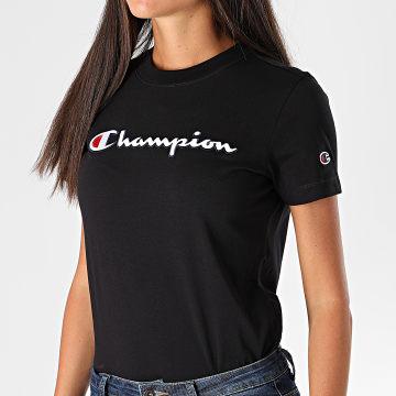 Champion - Tee Shirt Femme 113194 Noir
