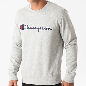 Champion - Sweat Crewneck 214720 Gris Chiné