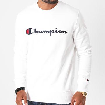 Champion - Sweat Crewneck 214720 Blanc
