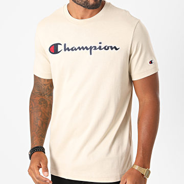 Champion - Tee Shirt 214726 Beige