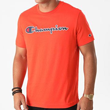 Champion - Tee Shirt 214726 Orange