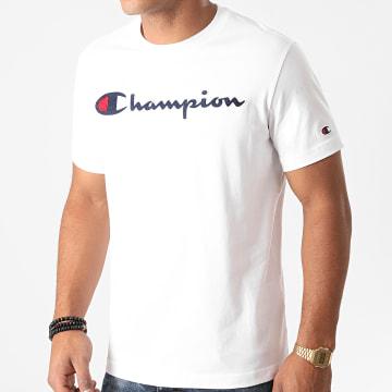 Champion - Tee Shirt 214726 Blanc