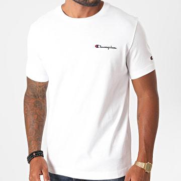 Champion - Tee Shirt 214727 Blanc