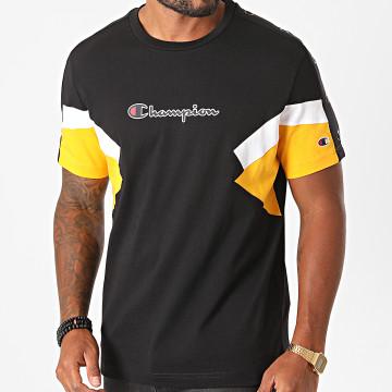 Champion - Tee Shirt Tricolore 214789 Noir