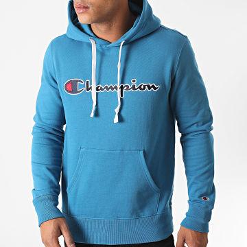 Champion - Sweat Capuche 214718 Bleu