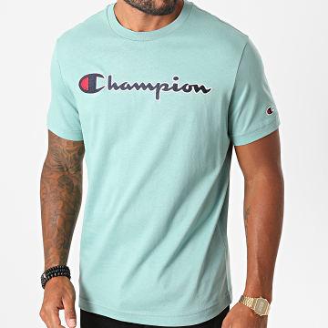 Champion - Tee Shirt 214726 Vert