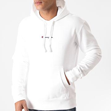 Champion - Sweat Capuche 215283 Blanc