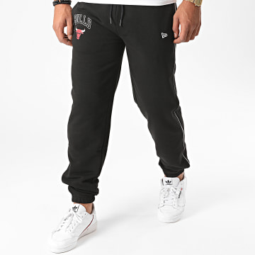 New Era - Pantalon Jogging NBA Stripe Piping Chicago Bulls 11860095 Noir
