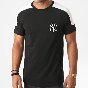 New Era - Tee Shirt A Bandes Single Jersey New York Yankees 12485597 Noir