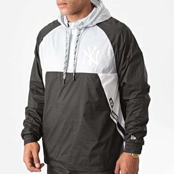 New Era - Veste Outdoor Capuche Ripstop New York Yankees 12485601 Noir Gris