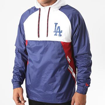 New Era - Veste Oudoor Capuche Ripstop Los Angeles Dodgers 12485603 Bleu Marine Blanc