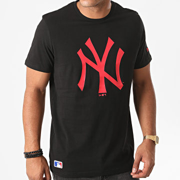 New Era - Tee Shirt MLB Seasonal Team Logo New York Yankees 12485708 Noir