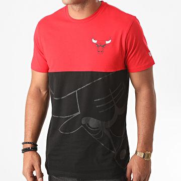 New Era - Tee Shirt NBA Large OTL Chicago Bulls 12487535 Noir Rouge