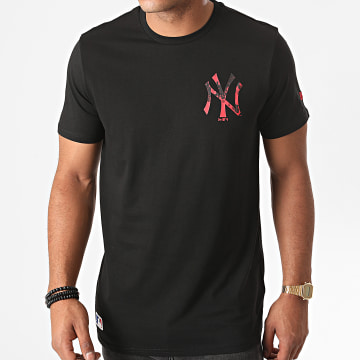 New Era - Tee Shirt MLB Digi Print New York Yankees 12487543 Noir
