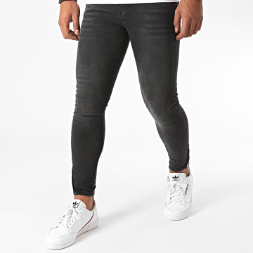 Noisy May - Jean Skinny Kimmy Gris Anthracite