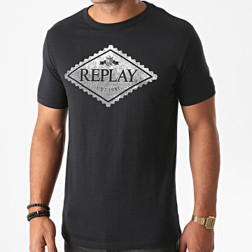 Replay - Tee Shirt M3140-23046P Noir