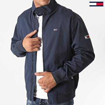 Tommy Jeans - Veste Zippée Cuffed Cotton 8424 Bleu Marine
