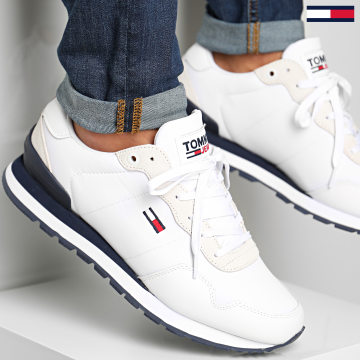 Tommy Jeans - Baskets Lifestyle Mix Runner 0578 White