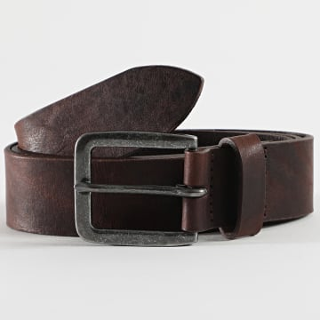 Jack And Jones - Ceinture Victor 12152757 Marron
